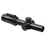 ПРИЦЕЛ BUSHNELL AR OPTICS 1-4X24, 30ММ., СЕТКА BTR, C ПОДСВ. 11УР., КРАСН., FFP, РЫЧАГ PCL, КЛИК=0,1MIL
