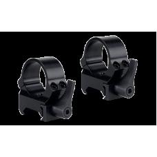 Кольца быстросъемные QRW на Weaver 30 мм низкие матовые