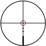 Оптический прицел Leupold VX•R 2-7X33 MATTE BALLISTIC FIREDOT