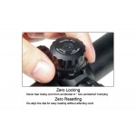 Оптический прицел LEAPERS True Hunter 4-16x50 AO, Mil-Dot, 25,4 мм, подсветка, с кольцами