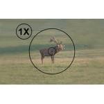 Оптический прицел LEAPERS Accushot Tactical 1-4x24 Circle Dot с подсветкой, 30 мм